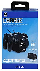 PS4 Twin Play 'n' Charge Cables - Schwarz [PlayStation 4 ]
