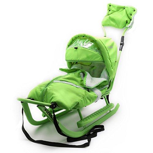 Babyschlitten Piccolino Komfort (Grün)