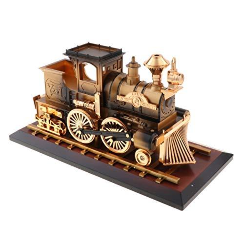 Homyl Boîte à Musique Base Mécanisme Souvenir Vintage Cadeau Créatif - Train - Bronze