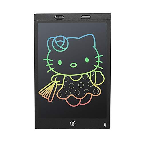 IWILCS Tableta de Escritura electrónica de Pantalla LCD Colorida de 12 Pulgadas para niños con Pantalla más Brillante, función borrable y Anti-despeje, Juguete Educativo de Regalo