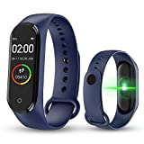 Smart Watch Intelligente Bracciale M4 Blood Pressure IPS Schermo Pedometro Ossigeno...