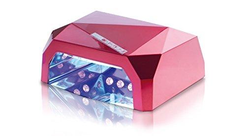 Lampada uv CCFL LED Ricostruzione unghie nail art timer 36w diamante fornetto