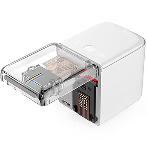 Impresora de Mano Mbrush, Impresora Multifunción/Impresora de Inyección de Tinta Portátil, para Texto Personalizado Número Código Etiqueta