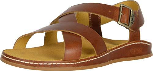 Chaco Women's Wayfarer Sandal, Ochre, 10