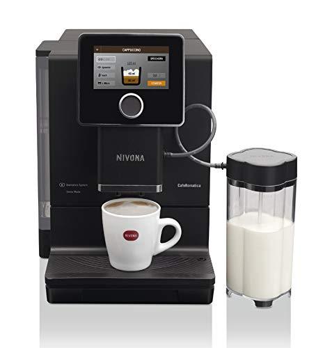 Nivona Ciśnieniowy zaparzacz do kawy CafeRomantica 960, czarny
