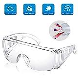 Gafas De Seguridad, Gafas De Protección Ocular Gafas Transparentes Lente...