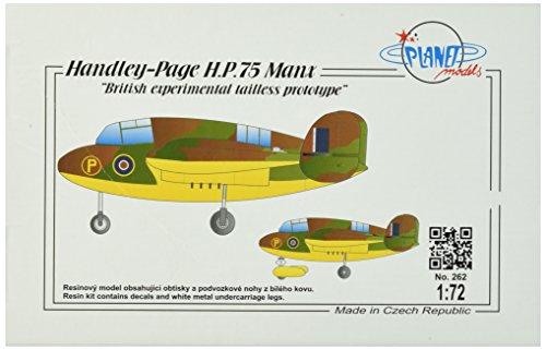 Planet Models plt262 – Modélisme Jeu de Handley Page H P 75 Manx-Full Resin Kit