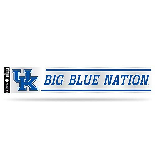 NCAA Rico Industries Tailgate Sticker, 3 x 17-inches, Kentucky Wildcats