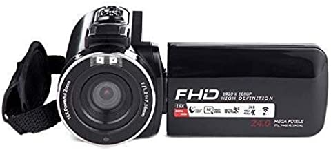 MAXAJUN Digital Camera, WiFi Camera Wireless Control Touch Screen Camera, Digital Compact High Zoom Travel Camera Camera