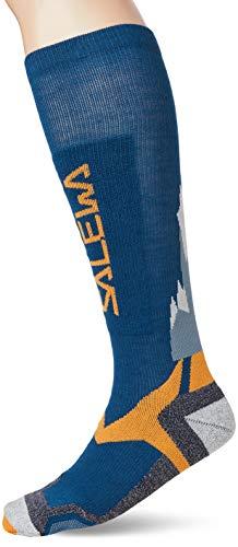 SALEWA All Mountain VP Sock, Blue/Orange, 41-43