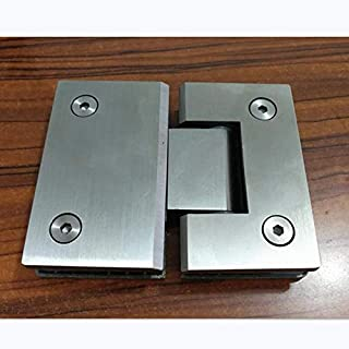 OBELLA BOUTIQUE 180 Degree Open SUS304 Stainless Steel Hinges Wall installation Glass Shower Door Hinge For Home Bathroom Furniture hinges