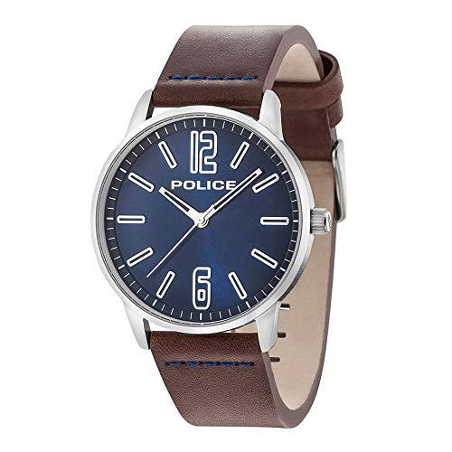 Police PL15142JS/03A_zv Reloj de Pulsera para Hombre Nuevo y Original
