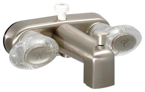Buy Phoenix PF223461 Catalina 4in Bath Faucet, Brushed Nickel