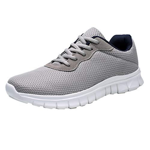 Masoness 🌻🌻 Herren Fly Woven atmungsaktive Laufschuhe Outdoor Casual Sneakers Schuhe,Herren Fliegende gewebte atmungsaktive Laufschuhe Outdoor Freizeitschuhe