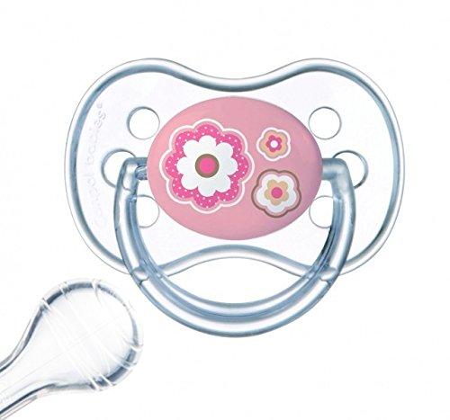 Canpol babies Kirschform Beruhigungssauger Silikon Rund (0-6 Monate)