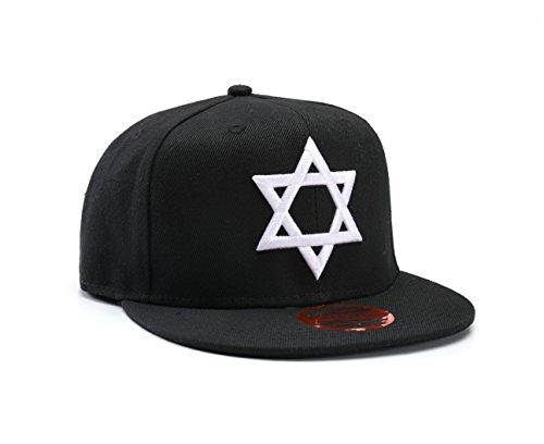 Underground Kulture étoile de David, l'israël Casquette Réglable (Jewish Snapback Cap)