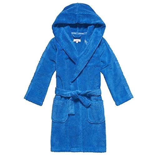 Calvin Klein - Albornoz - para niño Azul Azul Medium
