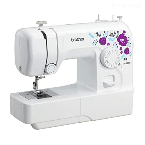 Brother JA 1400 Electric Sewing Machine, White