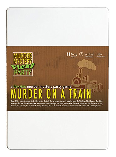 Murder Mystery Flexi Party Murder on a...