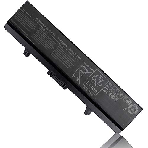 X284G GW240 K450N M911G Battery Compatible with Dell Inspiron 1545 1525 1526 1546 1440 1750 PP29L PP41L Vostro 500 RN873 M911 GP952 RU586 C601H GW252 HP297 XR693 PP42L 312-0844 11.1V 56Wh 6 Cell New