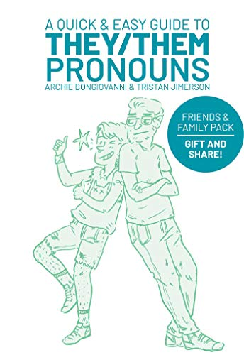 A Quick & Easy Guide to They/Them Pronouns: Friends & Family Bundle