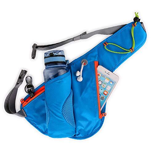Running mobile phone pockets outdoor cycling mountaineering bag waterproof water bottle bag belt bag
