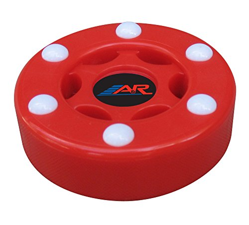 A&R Sports Inline Street Hockey Puck, Rot