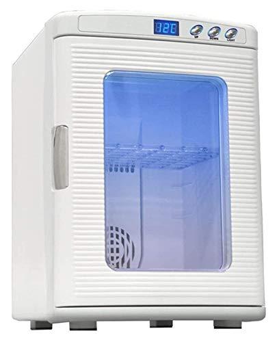 SHUHANG 25L Pequeño refrigerador para refrigerador de 12V Mini refrigerador refrigerador y Calentador 220V Home Single Door Refrigerador (Size : 340x435x485mm)