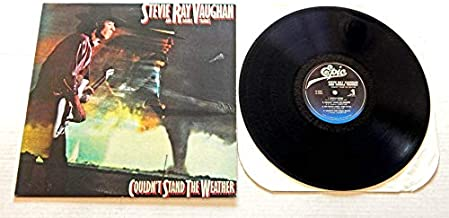 Stevie Ray Vaughan And Double Trouble COULDN'T STAND THE WEATHER - Epic Records 1984 - USED Vinyl LP Record - 1984 Pressin...