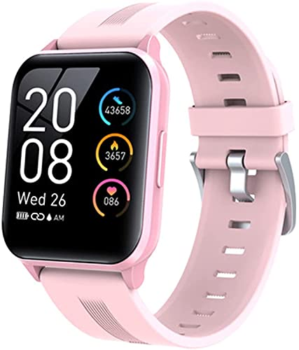 PKLG Modos deportivos Y79T reloj inteligente 1.69 pulgadas Fitness Tracker para hombres mujeres IP68 temperatura corporal salud pulseras (B) (E)