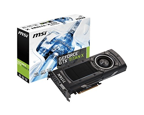 MSI Geforce GTX Titan X 12GB DDR5 384 bit 3X Displ