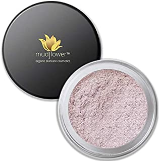 Mudflower Cosmetics Organic Pink Radiance Powder Veil, 1.5 Ounce