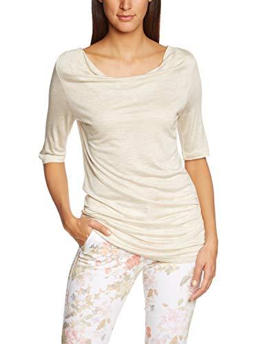 Gerry Weber Edition Sansibar T-Shirt, Marrone (Macadamia-Melange 902710), (Taglia Produttore: 44) Donna