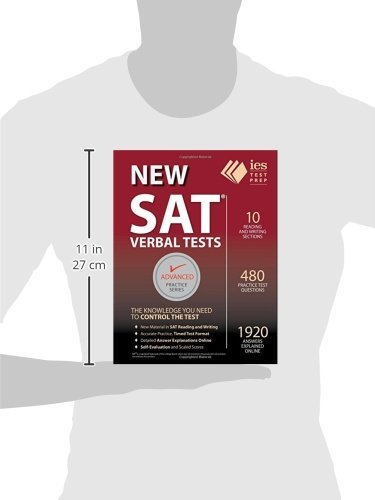 New SAT Verbal Tests (Advanced Practice)