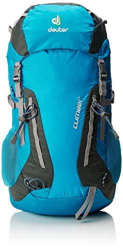 Deuter Climber Mochila, Unisex Adulto, Turquesa (Turquoise-Granite)