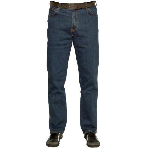 Wrangler Herren Texas Jeans, DARK-WASH, 38W / 32L