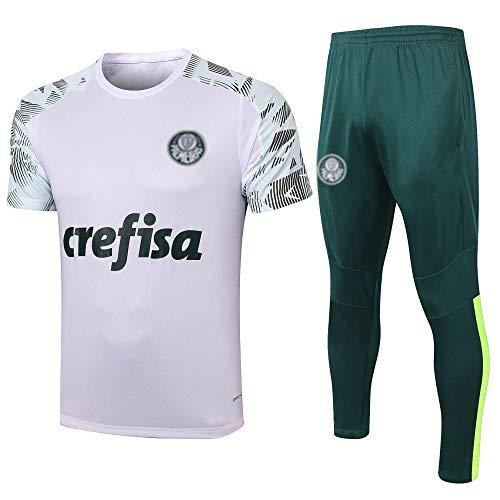 PPETt Herren Fußball Trikot T-Shirt Trainingsanzug, Klassische Fußball City Sportswear Top Anzug Club Team Spielanzug HD-1135-EIN_XL