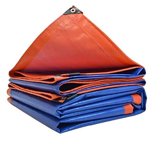 Lona impermeable para camping lona – Toldo acolchado impermeable impermeable – Lona de lona de plástico resistente a los rayos UV 1026 (tamaño: 4 × 6 m)