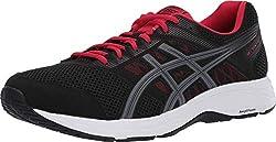 cheap ASICS Men's Gel Contend 5 Shoes, 10.5 m, Black / Metropolis