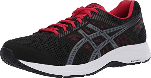 ASICS Men's Gel-Contend 5 Running Shoes, 11M, Black/Metropolis