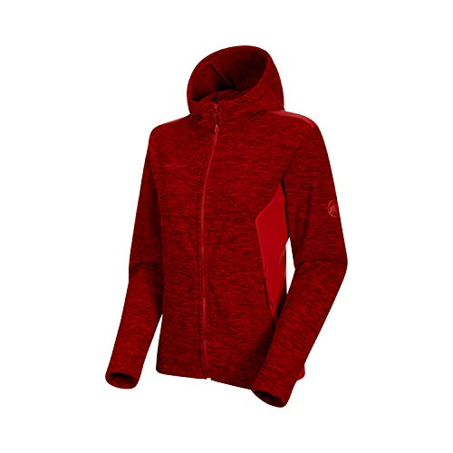 Mammut Damen Chaqueta Yadkin Ml Hooded Mujer Mantelkleid, Chiné (Scooter Melange/Scooter), S