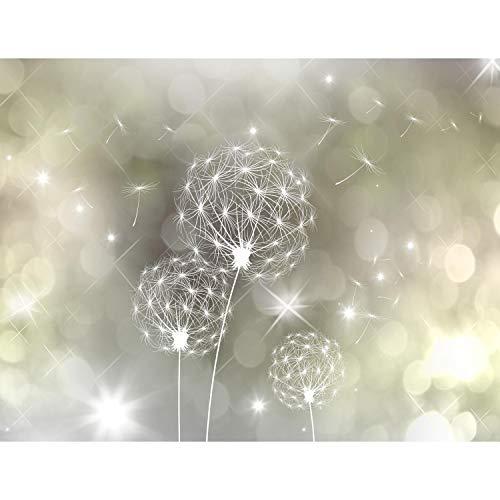 Fototapete Pusteblumen Abstrakt 352 x 250 cm Vlies Tapeten Wandtapete XXL Moderne Wanddeko Wohnzimmer Schlafzimmer Büro Flur Gelb 9174011b