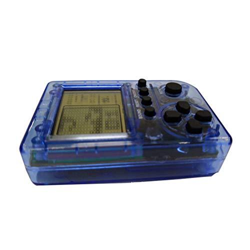 Dynamovolition Exquisit entworfenes langlebiges KincoBa Mini-Schlüsselbund-Anhänger-Spiel Tetris-Spiel Spielzeugverpackungsspielzeug Eingebaute 26 Spiele