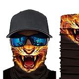 スポーツヘッドウェア、ユニセックスバンダナネックゲートルダストウィンドUV保護ヘッドラップ多機能オートバイヘッドバンドフェイスカバーアウトドアスポーツ用再利用可能バラクラバシームレスマジックスカーフ,D