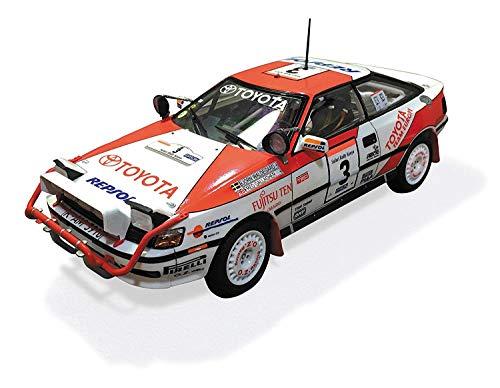 Aoshima serie Bunka Kyozai 1./2.4. BEEMAX No.8. Toyota Celica GT-FOUR ST1.6.5. 1.9.9.0 Rally Safari modelo de plaestico especificacioen