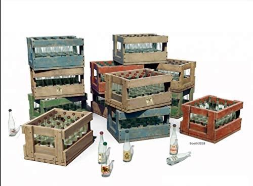 MiniArt Vodka Botellas y Jarras de Madera 1/35 35577