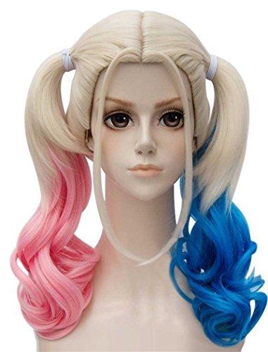 41aTPB202-L Harley Quinn Wigs