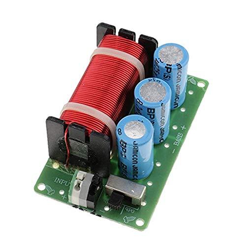 P Prettyia Module Diviseur de Fréquence Basse HiFi Audio Haut-Parleur Crossover 200W Filtres