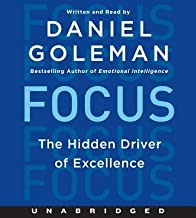 Focus( The Hidden Driver of Excellence)[FOCUS 7D][UNABRIDGED][Compact Disc]