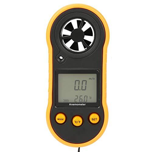 Anemómetro, Gm818 Lcd Anemómetro digital Medidor de velocidad del viento de mano Medidor de velocidad del aire Medidor de velocidad del aire en el hogar, oficina, automóvil, etc.